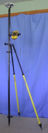 GPS Range Pole with Bipod