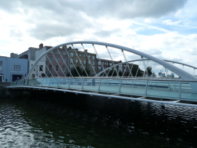 James Joyce Bridge, Dublin
