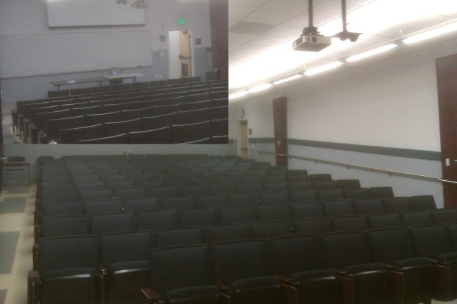 HSS 154 Large Lecture Hall