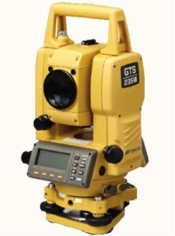 topcon gts 235 total station department of geography environment. Black Bedroom Furniture Sets. Home Design Ideas