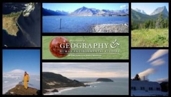 various images of geographic landscapes