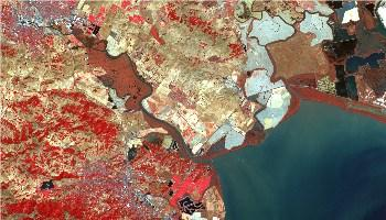 Remote Sensing map of the north bay