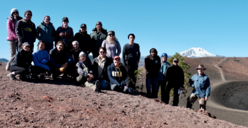 Lassen group shot