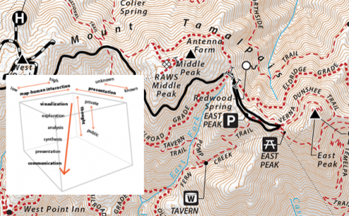 map of Mt. Tam
